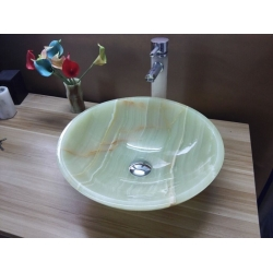 green onyx sink and basin