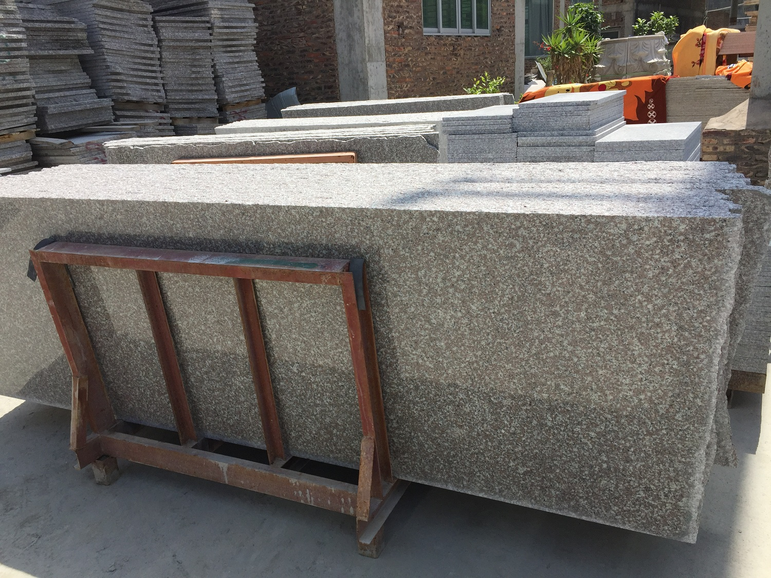 G664 Granite Small slabs promotion in July